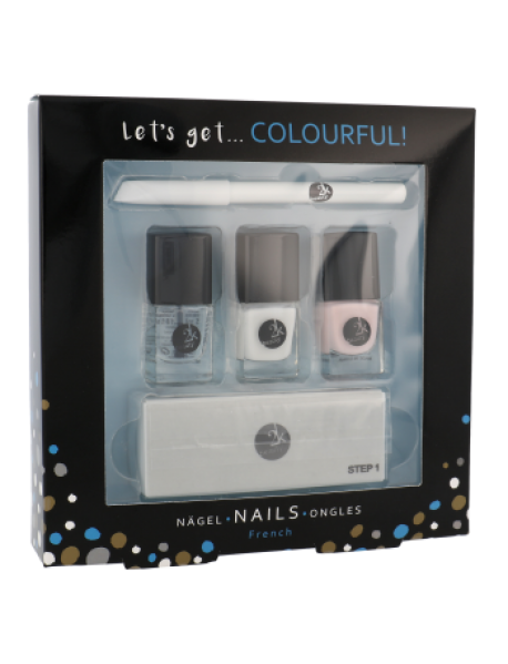 2K Let´s Get Colourful lak na nechty 3x5ml ml darčeková sada
