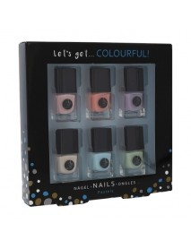 2K Let´s Get Colourful lak na nechty 6x5ml darčeková sada