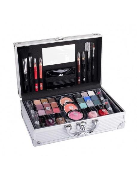 2K Fabulous Beauty Train Case- Complete Makeup Palette