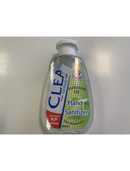Clea Fantasy 99,9% antibakteriálny gél 400 ml