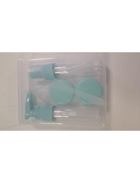 Cestovná sada nádobiek v plastovom obale 2 x 25 ml + 2 nádobky