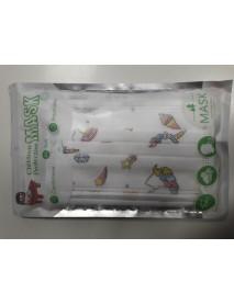 Children Protective Mask 10 ks jednorázové 3-vrstvové detské rúško