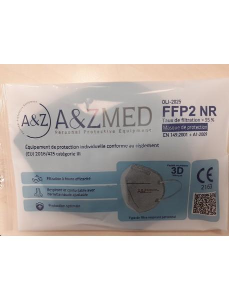 A&ZMED Respirátor FFP2 NR CE čierny 1ks
