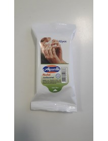 Aquella Menthol Antibakteriálne vlhčené utierky 15 ks