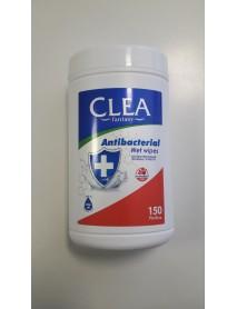 CLEA fantasy Antibakteriálne vlhčené utierky 150 ks