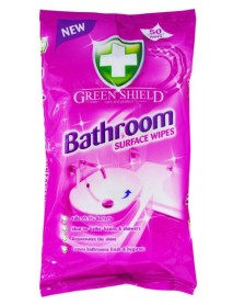 GREEN SHIELD čistiace obrúsky na kúpelňu 4in1 50 ks