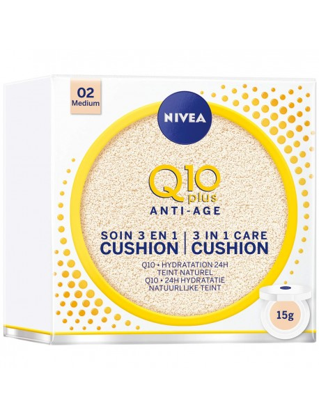 Nivea Q10 Plus Anti Age 3 in 1 Cushion 01 Light