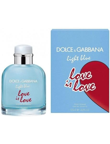 Dolce & Gabbana Light Blue Love Is Love pánska toaletná voda 125 ml