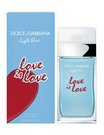 Dolce & Gabbana Light Blue Love is Love dámska toaletná voda 100 ml