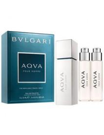 Bvlgari Aqva Pour Homme pánska toaletná voda s rozprašovačom 3x15 ml