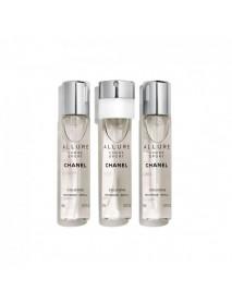 Chanel Allure Homme Sport pánska kolínska voda 3x20 ml náplne