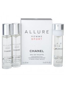 Chanel Allure Homme Sport 3x20ml EDT náplne