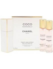 Chanel Coco Mademoiselle 3x20ml EDP s rozprašovačom W
