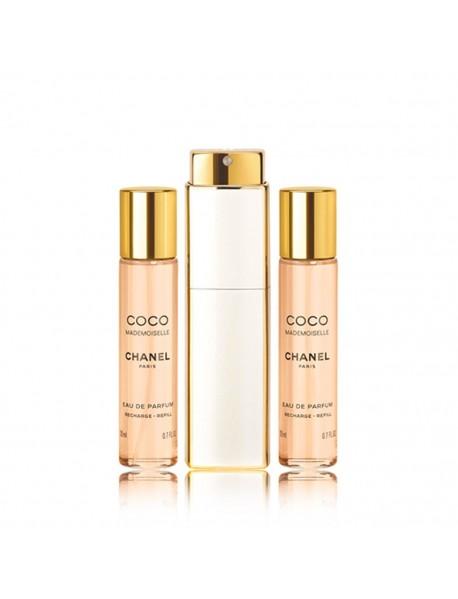 Chanel Coco Mademoiselle dámska parfumovaná voda 3x20 ml TESTER