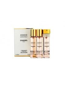 Chanel Coco Mademoiselle 3x20ml EDP náplne
