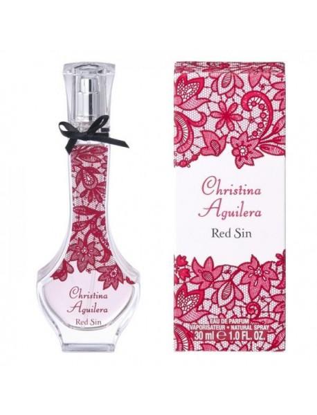 Christina Aguilera Red Sin dámska parfumovaná voda 50 ml